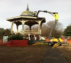 Bandstand and Round Building 2