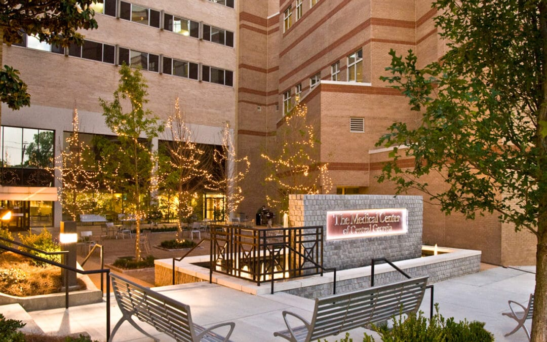Courtyard at The Medical Center