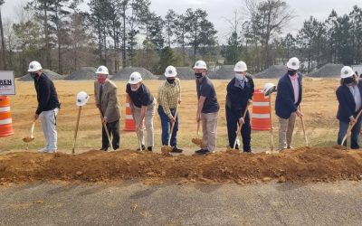 Ground Breaking at Lake Tobesofkee Phase II project